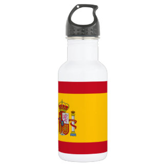National Flag of Spain 532 Ml Water Bottle