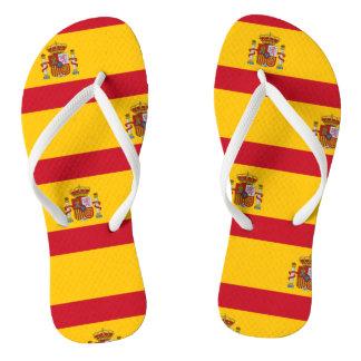 National Flag of Spain Flip Flops