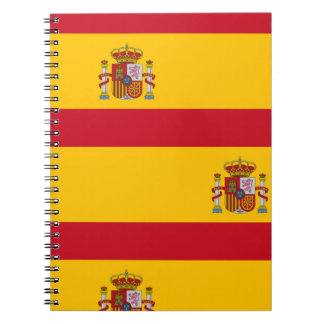National Flag of Spain Notebook
