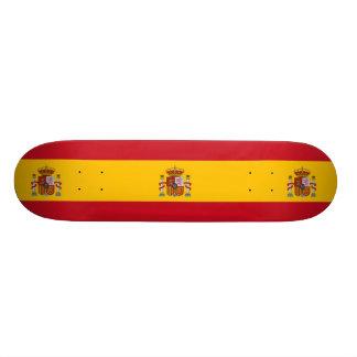 National Flag of Spain Skate Decks