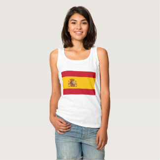 National Flag of Spain Tank Top