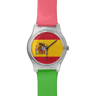National Flag of Spain Watch
