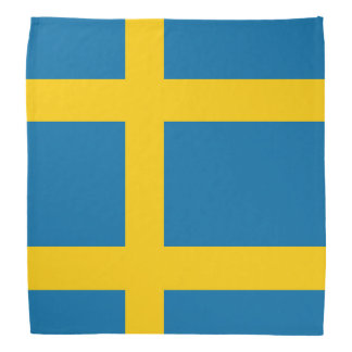 National Flag of Sweden Bandana