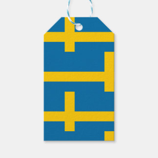 National Flag of Sweden Gift Tags