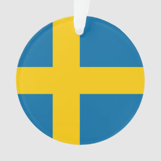 National Flag of Sweden Ornament