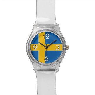 National Flag of Sweden Watch
