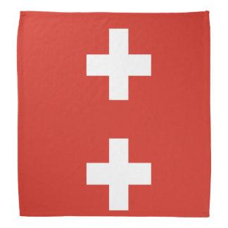 National Flag of Switzerland Bandana