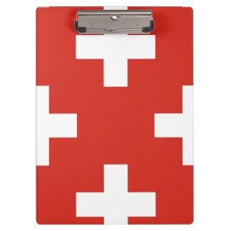National Flag of Switzerland Clipboard