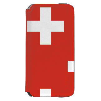 National Flag of Switzerland Incipio Watson™ iPhone 6 Wallet Case