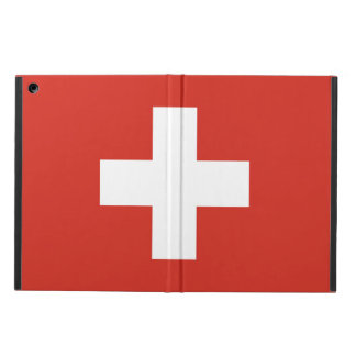 National Flag of Switzerland iPad Air Cover