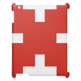National Flag of Switzerland iPad Cases