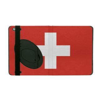 National Flag of Switzerland iPad Folio Case