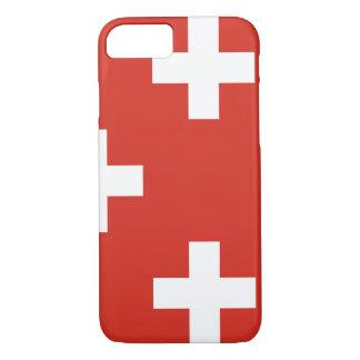 National Flag of Switzerland iPhone 8/7 Case