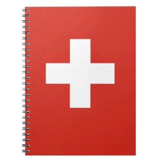 National Flag of Switzerland Note Books