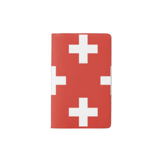 National Flag of Switzerland Pocket Moleskine Notebook