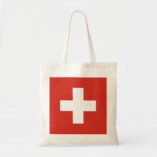 National Flag of Switzerland Tote Bag