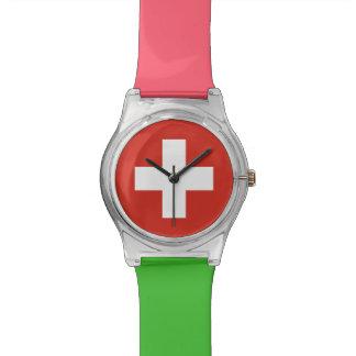 National Flag of Switzerland Watch