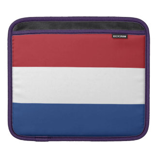 National Flag of the Netherlands, Holland, Dutch iPad Sleeve