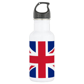 National Flag of the United Kingdom UK, Union Jack 532 Ml Water Bottle