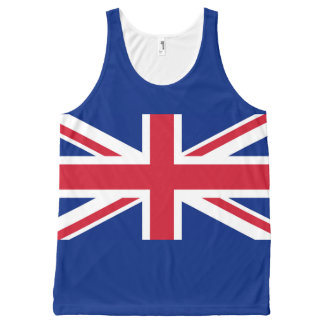 National Flag of the United Kingdom UK, Union Jack All-Over-Print Tank Top