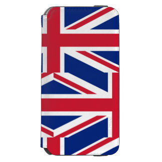 National Flag of the United Kingdom UK, Union Jack Incipio Watson™ iPhone 6 Wallet Case