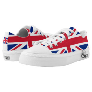 National Flag of the United Kingdom UK, Union Jack Low-Top Sneakers