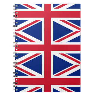 National Flag of the United Kingdom UK, Union Jack Notebook