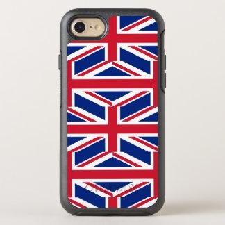National Flag of the United Kingdom UK, Union Jack OtterBox Symmetry iPhone 8/7 Case