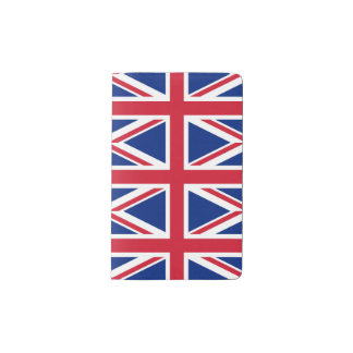 National Flag of the United Kingdom UK, Union Jack Pocket Moleskine Notebook