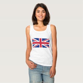 National Flag of the United Kingdom UK, Union Jack Tank Top