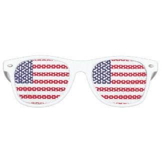 National Flag of the United States of America Retro Sunglasses