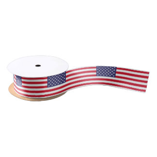 National Flag of the United States of America Satin Ribbon