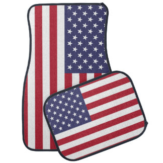 """National Flag of the United States of America USA Car Mat"
