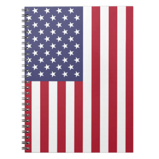 National Flag of the United States of America USA Notebook