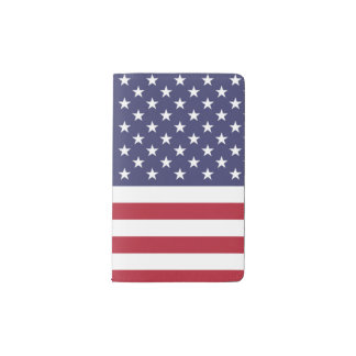 National Flag of the United States of America USA Pocket Moleskine Notebook