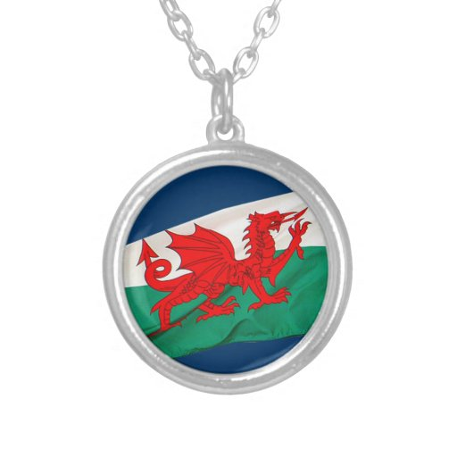 National Flag of Wales, The Red Dragon Patriotic Pendant