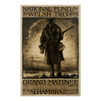 National Fund for Welsh Troops Poster