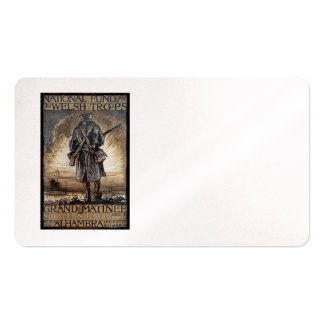 National Fundraiser for Welsh Troops Business Card