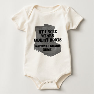 National Guard Niece Uncle CB Baby Bodysuit