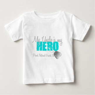 National Guard Niece Uncle Hero Baby T-Shirt