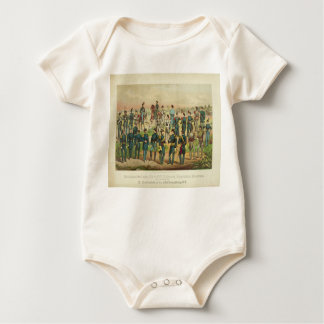 National Guard Uniforms Baby Bodysuit