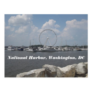National Harbor Postcard