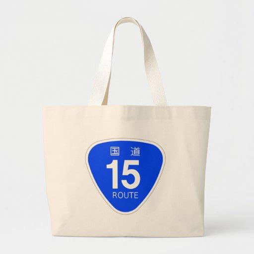 National highway 15 line - national highway sign bag