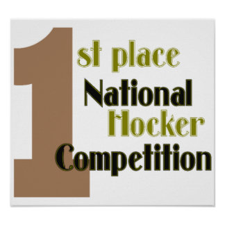 national hocker competition poster