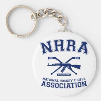 National Hockey and Rifle Association Keychain