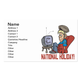 National Holiday Pack Of Standard Business Cards