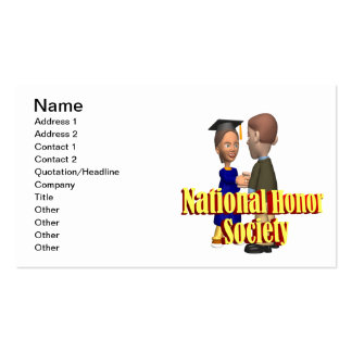 National Honor Society Business Card
