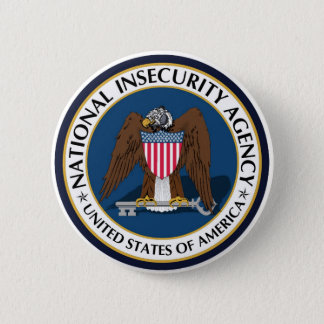 National Insecurity Agency Pin