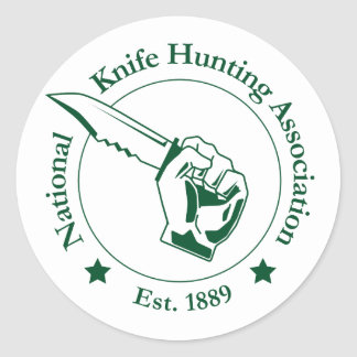 National Knife Hunting Association Sticker