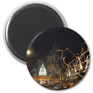 National Mall celebrating holiday photo 2 Inch Round Magnet